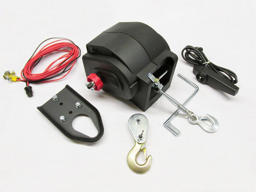 12V 6000LB Electric Winch - Boat Trailer Quad ATV Puller Marine
